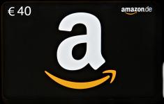 40€ Amazon-Gutschein
